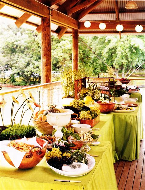 Simple Styling The Buffet Table Budget Wedding Wedding Food Buffet
