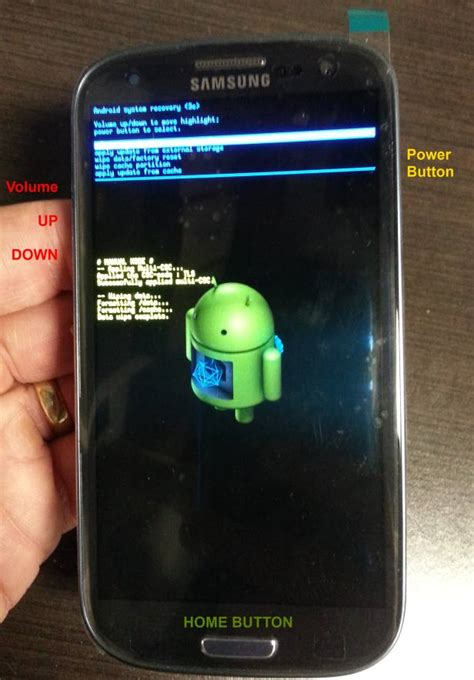 reset samsung factory solved how to factory reset a samsung galaxy s3 up