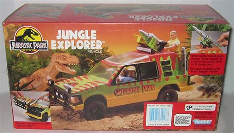jurassic park jungle explorer super toy archive collectible store kenner jurassic park