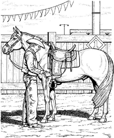 coloring pages of cowgirls and horses coloring pages bestofcoloring