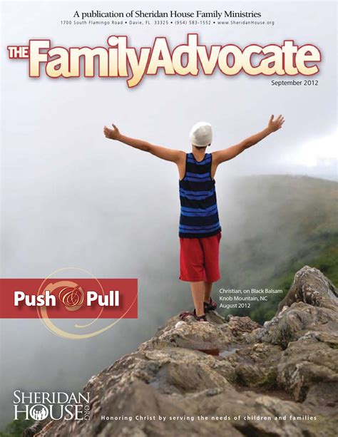 sheridan house family ministries september 2012 family advocate by sheridan house family ministries issuu