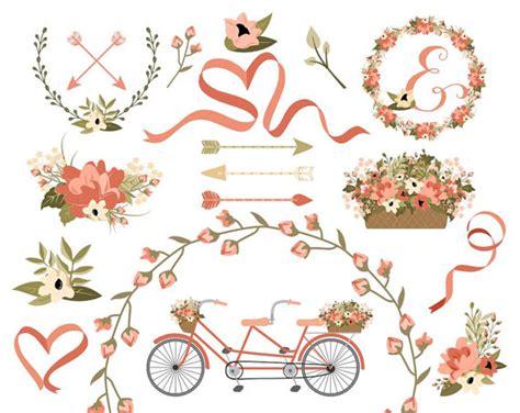 Wedding Brochure Clipart by Wedding Clipart Laurel Clipart Wreath Clip Bike Clip