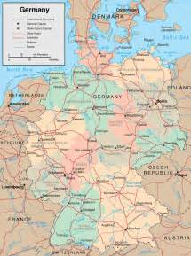 A Map Of Germany by Maps Of Germany Free Printable Maps