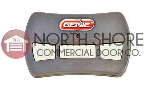 Genie Garage Door Opener B8qacsct by Genie Gitr 3 Three Button Garage Door Opener Remote 37517s