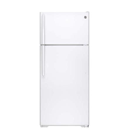 frigidaire 12 cu ft top freezer refrigerator in white