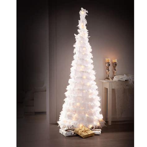 weihnachtsbaum federn zauberhafter led federbaum 3 jahre garantie pro idee