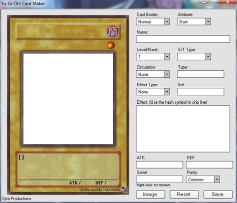card template creator create your own cards fan corner