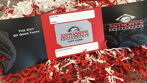 Anthony S Restaurant Gift Card - gift cards anthony s home port