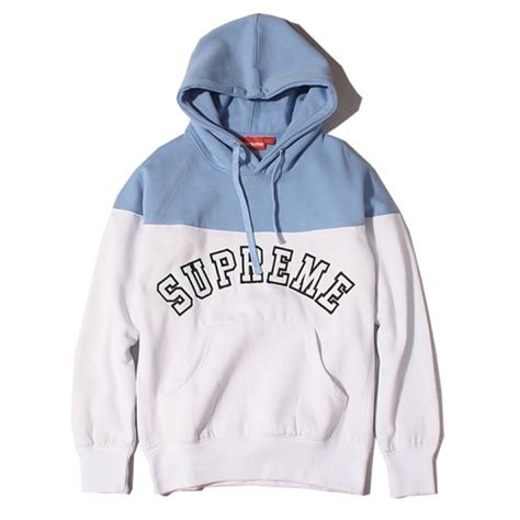 supreme hoodies supreme quot logo contrast quot hoodies collection available at