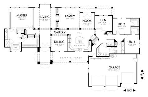 grayson floor plan mascord house plan 1313 the grayson