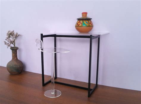 Glass Breakfast Bar Table Breakfast Glass Bar Table Acrylic Bar Stool 1 6 Scale