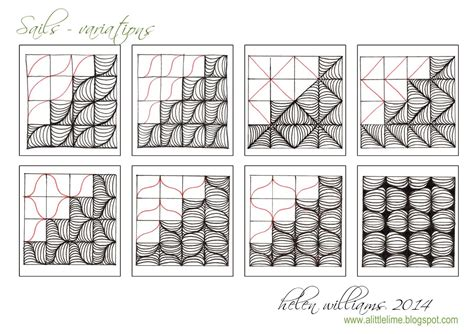 tangle pattern ideas a little lime sails pattern variations zentangle