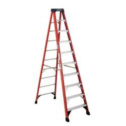 rent to own werner 10 ft fiberglass step ladder with 300