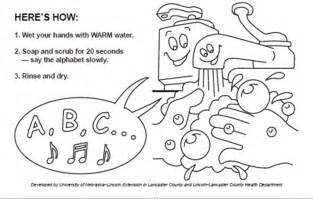 a fun way to teach kids about hand washing water quality