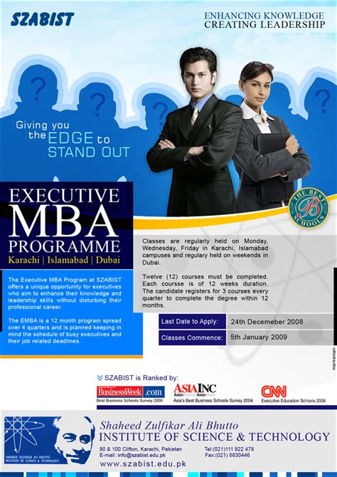 Mba In Advertising And Marketing Colleges by Mba Program Ad By Naasim