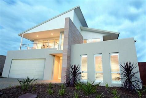 facade exteriors home designs storey