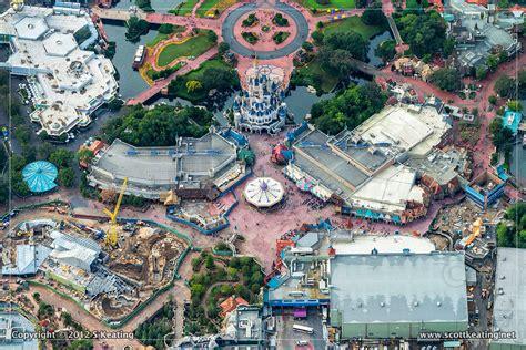 disney world welcomes new fantasyland attractions this dizfanatic aerial fantasyland photos