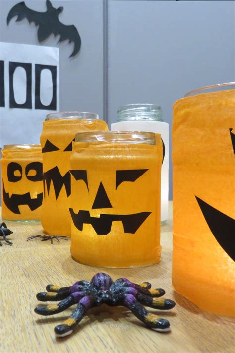 lanterns made with recycled jam jars