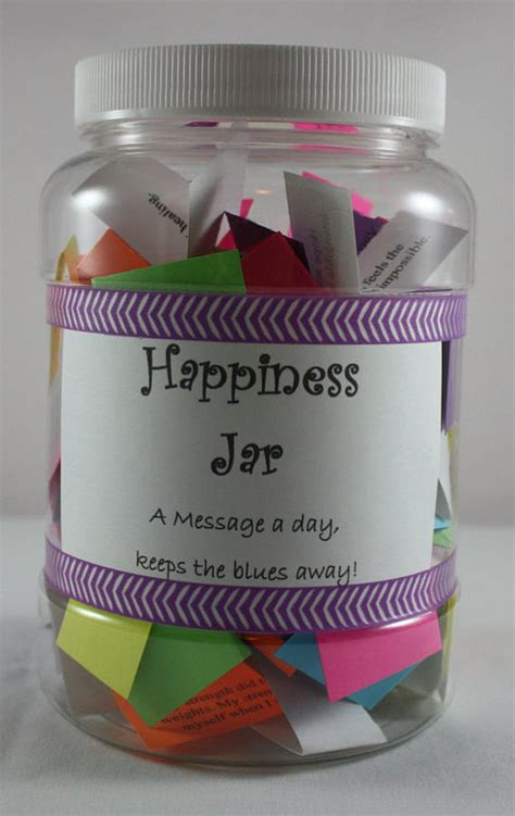 The Happy Jar A Jar Of Individual Sentiments On by Happy Jar Happiness Jar Inspirational Quotes Sayings Bible