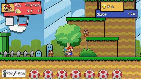 super mario fan games paper mario colors of creation the super paper mario