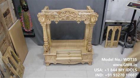 wooden mandir for home