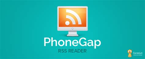 mobile rss feeds phonegap rss reader send rss news feeds on mobile formget