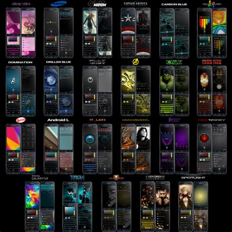 themes in galaxy note edge 5 0 1 beta alliancerom 169 n915g 18 themes galaxy note