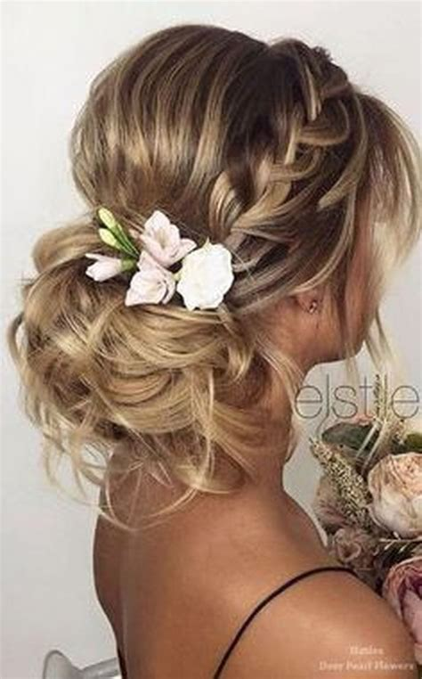 ideas  easy wedding hairstyles  pinterest simple prom hairstyles easy chignon