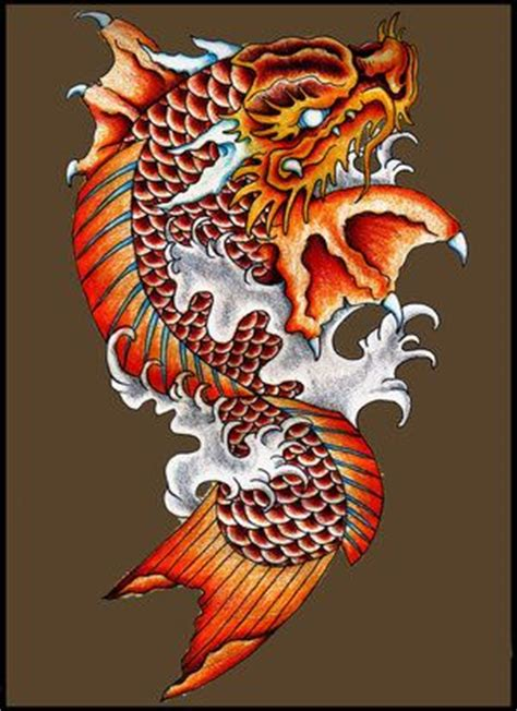 orange koi dragon with blue best 25 koi ideas on koi