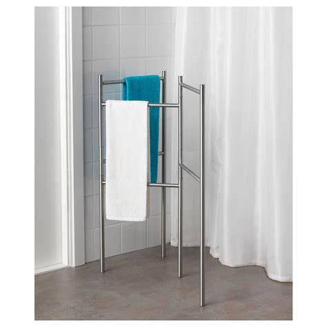 ikea towel storage grundtal towel stand stainless steel ikea