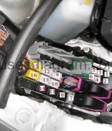 Vauxhall Zafira Cigarette Lighter Fuse Fuse Box Opel Vauxhall Corsa C