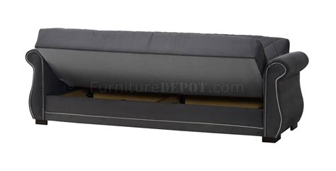 Sleeper Sofa Options Deluxmark Sofa Bed In Gray Fabric By Casamode W Options