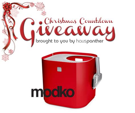 Moderncat Com Giveaways - christmas countdown giveaway winner modkat litter box from modko plus save 20