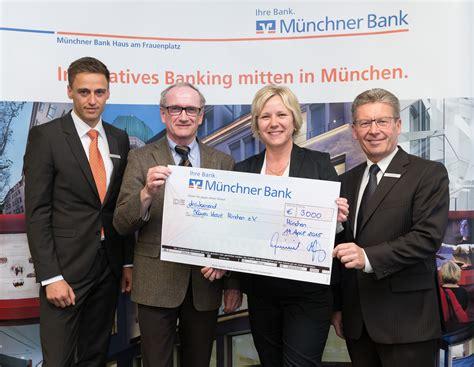 v bank münchen m 252 nchner bank eg spendet 30 000 an zehn vereine