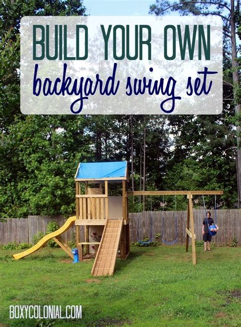 make your own swing 47 best images about house outdoor play area on