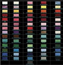 coats and clark thread color chart coats and clark embroidery thread color chart 2017
