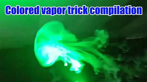 colored vapor colored vapor smoke how to jellyfish vape trick