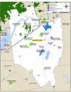 saratoga county map nys dept of environmental conservation