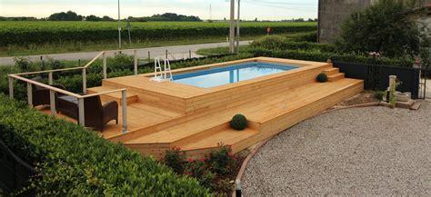 piscine fuori terra rivestite in legno le 48 pi 249 piscine fuori terra rivestite piscine