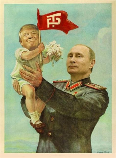 donald trump russia trump the putin puppet tool another product of the