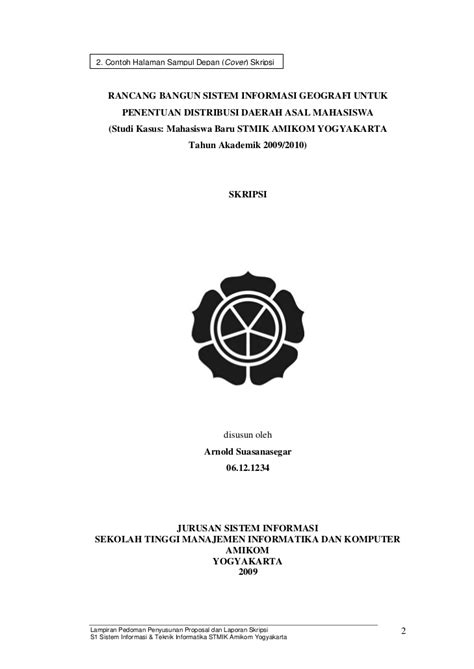 Contoh Skripsi Jurusan Manajemen Site Title