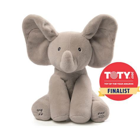 Gund Flappy Elephant Singing Interactive Plush   The Paper