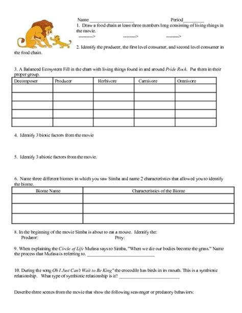 Ecology Worksheet Answers by Principles Of Ecology Worksheet Answers Worksheets Tutsstar Thousands Of Printable Activities