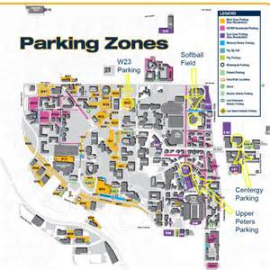 tech parking map softball opens 2014 caign saturday at home