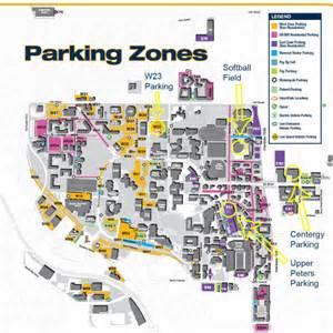 tech parking map map