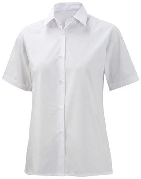 Blouse Batik Ninda White E white school blouse blue denim blouses