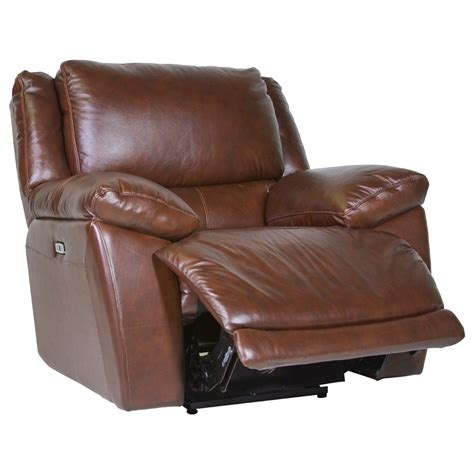 futura leather recliner futura leather curtis power recliner homeworld furniture