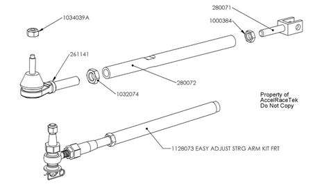 tie rod assembly diagram tie rods front rear spec racer ford rental csr