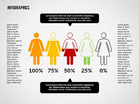 Gender Infographics For Powerpoint Presentations Download Now 02083 Poweredtemplate Com Gender Infographic Template