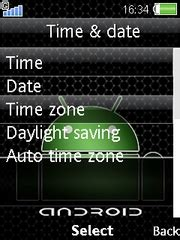 themes for android wap android theme for sony ericsson mobile phones